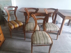 Bieder szalonasztal+4 szék