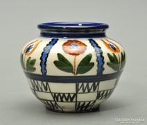Keramos Nógrádverőce váza, 7cm magas