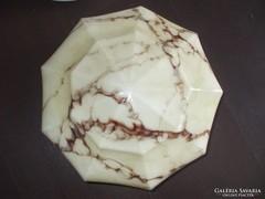 Art deco márványos lámpa bura búra