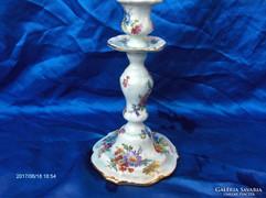 Antik porcelán gyertyatartó