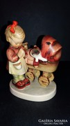 "Antik Hummel figura  ""Doll Mother"""