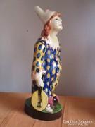 Borszéky Frigyes aranyos bohóc figurája alul jelzett