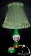 Ritka, antik Herendi fond festett lámpa, 72CM!