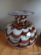 Csodálatos régi nagyméretű Muránói váza hibátlan állapotban