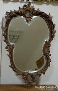 Barokk szalon tükör ( csiszolt velencei)