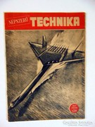 Régi Újság NÉPSZERŰ TECHNIKA1957július