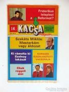 Régi Újság KACSA MAGAZIN1989október21