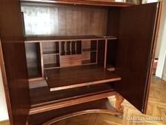 Intarziás szekrény,belső szekreterrel