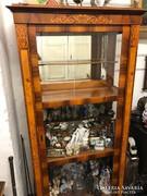 Kánikula áron sürgősen eladó! Bidermeier vitrin XX.század