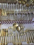 Evőeszközkészlet 75db ag800jelzett ezüstözött kollekció