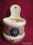 1770 Régi kézzel festett fajansz fűszertartó