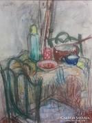 Gráber Margit (1896-1993): Asztali csendélet
