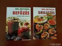 Dr Oetker szakácskönyv 2 db egyben
