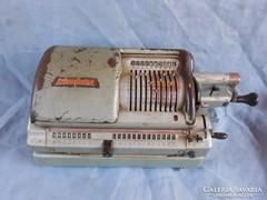 1950-es számológép.Mechanikus.Német.