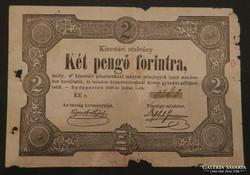 2 pengő forintra