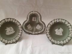 Wedgwood tányérok eredeti tányértóval 3 db