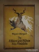 In Tälern und Höhen des Himalaja Szabó Dezső ex libris -ével