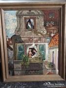 Híres német festményről készült goblein/gobelin