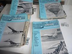 Repülés ejtőernyőzés újságok 92 db