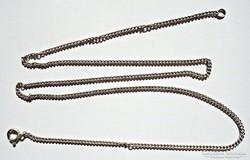 48,5 cm. hosszú ezüst nyaklánc