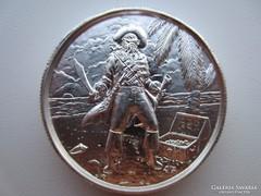USA Kalóz Kincsesláda 2 uncia ezüst érme 0,999AG emlékérme