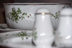Hóllóházi 26 db-os Erika porcelán étkészlet