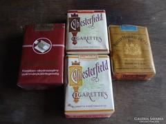 4 db bontatlan cigaretta, gyűjtői darabok