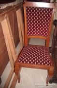 Árt Decó támlás szék.