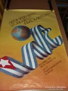 Antiimperialista Szolidaritás Béke Barátság plakát.