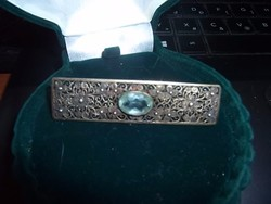 Filigrán ezüst bross