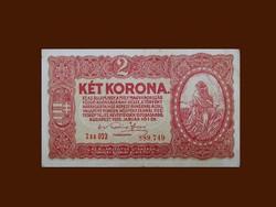 KÉT KORONA - A JAVÁBÓL....SZÉP ÁLLAPOTBAN 1920.