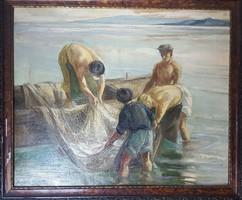 Udvary Pál Halászok