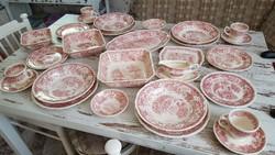 Antik Villeroy & Boch porcelán étkészlet 4 főre