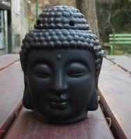 Buddha fej párologtató /FEKETE/