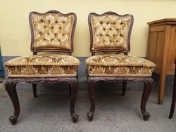Barokk szék párban