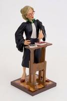 Ügyvédnő /Forchino karikatúra szobor/