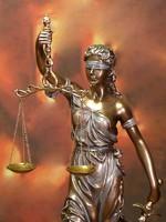 Justitia szobor 49cm