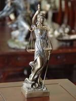 Justitia szobor 31cm