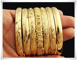 18 K arany gold plated - karperecek gyönyörű vésett mntákkal