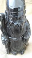 Ónix faragott japán figura,ritka darab,kora nem ismert 462 g