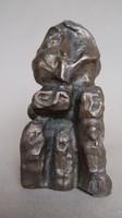 Tóth Menyhért  kis bronz szobra