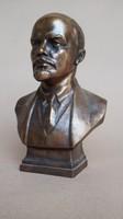 Lenin bronz portré