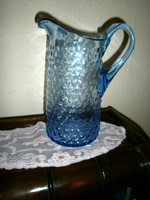 Antik bütykős üveg  kancsó