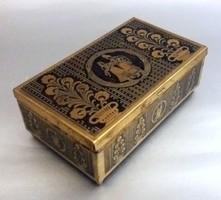 Szecessziós doboz: Kőbányai festékgyár Steinbruchner Malzfab