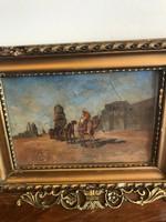 Antik festmény Kairó