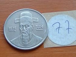 DÉL-KOREA 100 WON 1991 77.