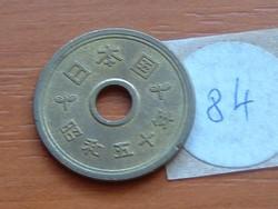 JAPÁN 5 YEN 50 (1975) 84.