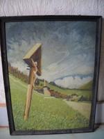 Antik festmény eladó!