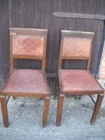 Antik rugós szék 2 db eladó!
