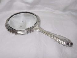 Antik WMF ezüstözött kézi tükör 1910s'